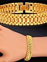 plaque de fantaisie chaude bracelet chaine de vente lien 18k or veritable platine trapu bracelet bracelet pour les femmes des hommes de haute qualite