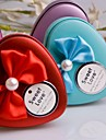 9 Piece/Set Favor Holder - Heart-shaped Metal Gift Boxes/Favor Tins and Pails/Favor Boxes Non-personalised
