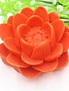 lotusblomma formad kinesisk stil fondant tårta silikonform