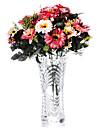 gros bouquet de cosmos multicolores