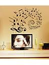lumineux Stickers muraux stickers muraux, de la musique de style a lire les notes de musique pvc stickers muraux