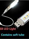 KLW - Lumină de noapte/Lampă LED De Citit - Alb natural - Lumină de noapte/Lampă LED De Citit - 1.5 - USB - AC 220