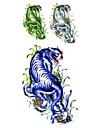 Tatueringsklistermärken - Mönster/Ländrygg/Waterproof - Djurserier - till Dam/Vuxen/Tonåring - Multifärgad - Papper - 1 - styck 18.5*8.5cm