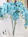 Une succursale Polyester Orchidees Fleur de Table Fleurs artificielles #(40*8*8)