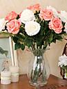Gren Silke Roser Bordsblomma Konstgjorda blommor 78 x 9 x 9(30.71\'\' x 3.54\'\' x 3.54\'\')