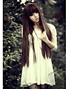 Young Girls Look is Natural Black Long Straight Hair Wig