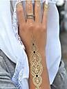 1 Tatouages Autocollants Series bijoux Non Toxique Hawaien Bas du Dos ImpermeableHomme Femme Adulte Adolescent Tatouage Temporaire