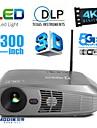 aodin® Android OS 3d ledde projektor hemmabio och affärs 3500lm 4k med vga usb sd HDMI-ingång