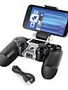 telephone intelligent monter support de stockage de support + cable de recharge pour manette de jeu PS4