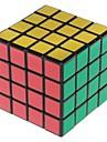Shengshou® Cube de vitesse lisse 4*4*4 Vitesse / Niveau professionnel Cubes magiques Noir Autocollant Scrub Anti-pop / ressort reglable