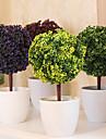 Une succursale Plastique Plantes Fleur de Table Fleurs artificielles 26 x 13 x 13(10.24\'\' x 5.12\'\' x 5.12\'\')