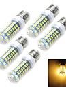 12W E14 / E26/E27 Ampoules Mais LED T 69 SMD 5730 1100-1200 lm Blanc Chaud / Blanc Froid AC 100-240 V 1 piece