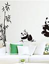 sticker mural PVC panda amovible environnement