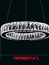 Crystal LED Pendant Lights Lighting Modern Single Rings D70CM K9 Large Crystal Indoor Ceiling Light Fixtures