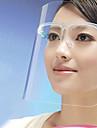 kök matlagning anti-olja stänk ansiktsmask ansiktsskydd sköld (slumpmässig färg) 21 * 27,5 * 3 cm
