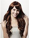 populära brun syntetiskt hår kvinnans cosplay peruk lockigt animerade peruker