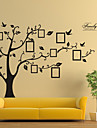 Wall Stickers Wall Decals, Style Black Photo Tree PVC Wall Stickers