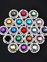 multicolore porte-crochet sac a main de sac de cintre cristal hangbag (couleur aleatoire) 4,5 * 4,5 * 2 cm
