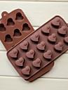 mode diy silikon choklad tvål is gelé pudding kaka Utsmyckning mögel kök bakeware matlagning verktyg (slumpmässig färg)
