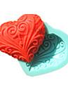 en forme de coeur de dentelle savon moule fondant moules a gateau moule de chocolat pour l\'outil de decoration de gateau de sucre cuisine