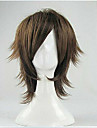 Men\'s Cosplay Wig Cartoon Wigs Party Wig Brown Short Straight Animated Synthetic Hair Wigs