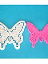 fyra-c fjäril fondant cutter, plast kaka Utsmyckning cutter, tårta cutter mögel, tårta verktyg