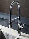 HPB® Deck Mounted Single Handle One Hole with Chrome Kitchen faucet