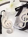 musikaliska noterar mönstrar tofsar legering bokmärke