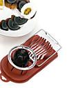 cuisine dispositif de coupe Egg Slicer moule bords de fleurs coupees (couleur aleatoire) 20,5 x 9 x 4cm