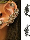 Earring Ear Cuffs Jewelry Women Wedding / Party / Daily / Casual Alloy 1pc Bronze / Silver