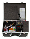 Professional 2 Cast Iron Guns Tattoo Kit with Case