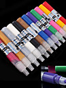 12Color 3D Nail Polish Nail Art Sculpture Pen