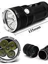 8000Lm 18650 BatteryWaterproof 5x CREE XM-L T6 LED Hunting Flashlight Torch Light