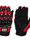 Motorcykel Handskar Helt finger Gummi/Tyg/Mjukt Läder/Nylon M/L/XL Röd/Svart/Blå