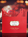 Personalized Side Fold Wedding Invitations Invitation Cards-50 Piece/Set Ethnic & Religious Card Paper