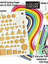 quilling papper diy konsthantverk dekoration kit / 7st set