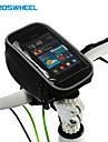 ROSWHEEL® Sac de Velo 1.5LSac de telephone portable / Sacoche de Guidon de Velo Multifonctionnel / Ecran tactile Sac de Cyclisme PVC