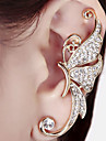 Earring Ear Cuffs Jewelry Women Birthstones Wedding / Party / Daily / Casual Alloy 1pc Gold