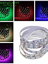 SENCART 2 M 120 5050 SMD Varmt vit/Vit/RGB/Röd/Gul/Blå/Grön/RosaKlippbar/Fjärrkontroll/Bimbar/Kopplingsbar/Lämplig för