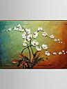 Peint a la main Paysage / Nature morte / A fleurs/BotaniqueModern Un Panneau Toile Peinture a l\'huile Hang-peint For Decoration