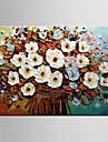 HANDMÅLAD Landskap / Stilleben / Blommig/BotaniskModerna En panel Kanvas Hang målad oljemålning For Hem-dekoration