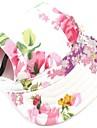 Chat / Chien Bandanas & Chapeaux Rouge / Bleu / Noir / Incanardin Vetements pour Chien Printemps/Automne Floral / Botanique