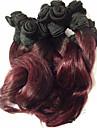 1 st. Vågigt Human Hair vävar Peruanskt hår Human Hair vävar Vågigt