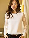 Women\'s White Blouse Long Sleeve
