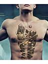 Tatueringsklistermärken - Non Toxic/Mönster/Stor storlek/Ländrygg/Waterproof - Annat - till Dam/Herr/Vuxen/Tonåring - Multifärgad -
