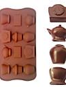 tekanna formad bakformar is / choklad / kakform