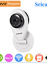 Camera IP - Mini - Jour Nuit/Detection de presence/Acces a Distance/Coupure infrarouge/Wi-Fi Protected Setup/Pret a l\'emploi - Indoor -