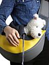 Chat Chien Sac de transport Pochette a Chaines Animaux de Compagnie Paniers Solide Portable Respirable Jaune Vert Bleu Rose