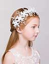 Flower Girl\'s Alloy/Net Headpiece - Wedding/Special Occasion/Outdoor Wreaths 1 Piece
