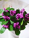 fleurs artificielles de haute qualite pour la simulation de mini-maison de decoration fruits legumes pour les decorations de Noel